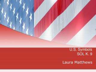 U.S. Symbols SOL K. 9
