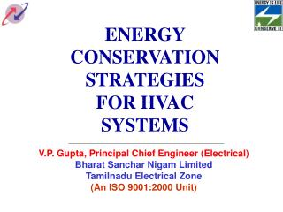 ENERGY CONSERVATION STRATEGIES FOR HVAC SYSTEMS