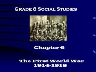 Grade 8 Social Studies