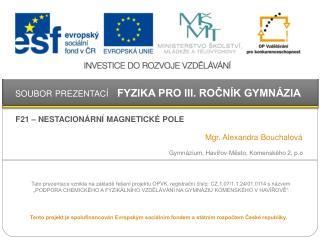 Gymnázium,  Havířov -Město, Komenského 2,  p.o