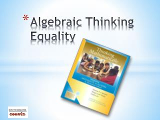 Algebraic Thinking Equality