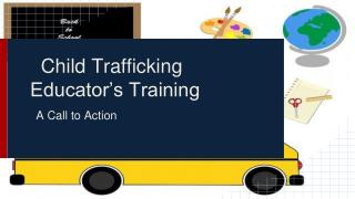 Child Trafficking Educator's Training