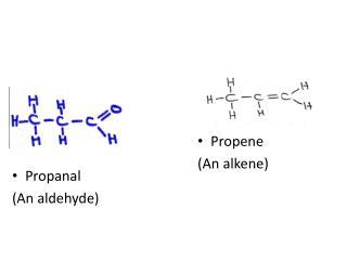 Propene (An alkene)