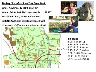 Turkey Shoot at Leather Lips  Park When: November 12  8:00 -11:30 am