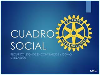 CUADRO SOCIAL