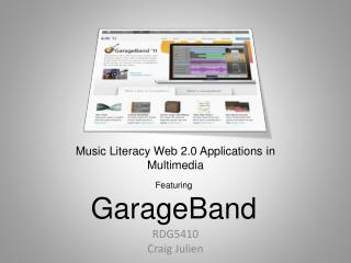 Music Literacy Web 2.0 Applications in Multimedia