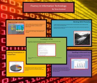 Fluency in Information Technology By Tessa  Hustead