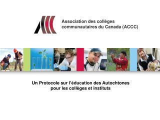 Association des coll�ges  communautaires du Canada (ACCC)