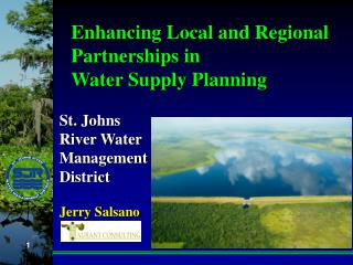Enhancing Local and Regional Partnerships in Water Supply Planning