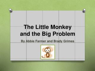 The Little Monkey and the Big Problem