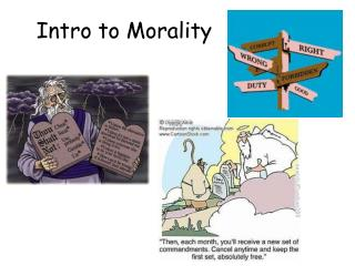 Intro to Morality
