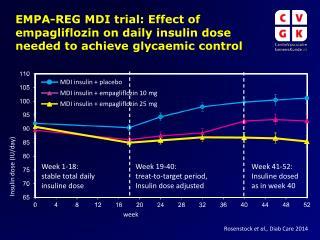 MDI insulin + placebo
