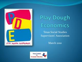 Play Dough Economics