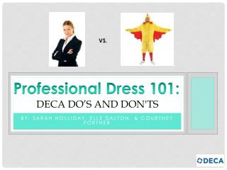 Deca  Do's and Don'ts
