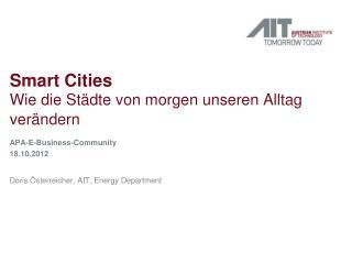 Smart Cities Wie die Städte von morgen unseren Alltag verändern