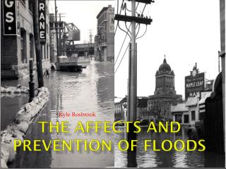 The Affects and Prevention of Floods