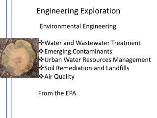 Engineering Exploration