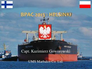 BPAC  2013  -  HELSINKI