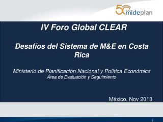 IV Foro Global CLEAR