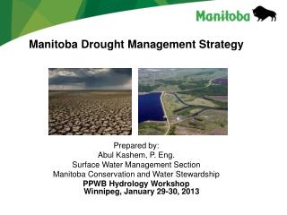 Manitoba Drought Management Strategy