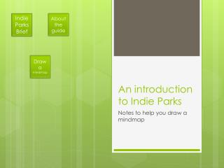 An introduction to Indie Parks