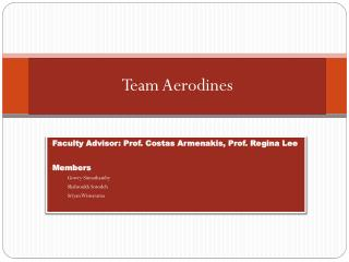 Team Aerodines
