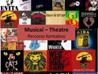 Musical –  Theatre Percorso formativo
