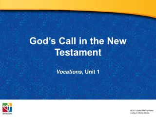 God�s Call in the New Testament