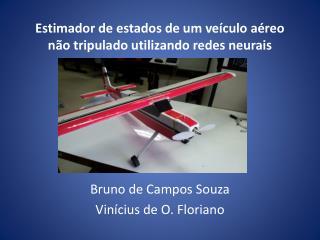 Estimador de estados de um veículo aéreo não tripulado utilizando redes neurais