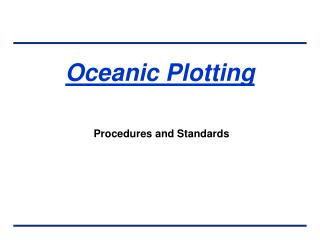 Oceanic Plotting