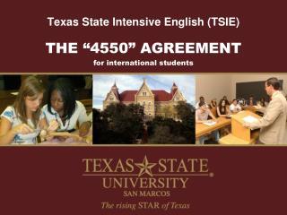 Texas State Intensive English (TSIE)