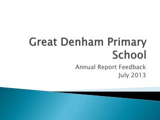 Great Denham Primary School