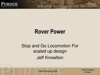 Rover Power