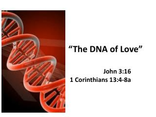�The DNA of Love�