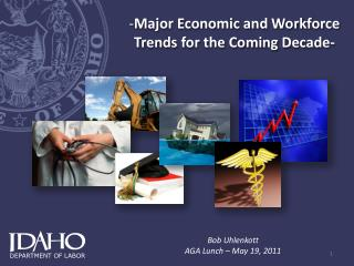 Major Economic and Workforce Trends for the Coming Decade-