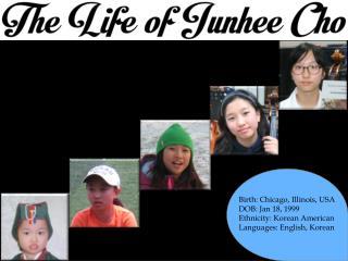 Birth: Chicago, Illinois, USA DOB: Jan 18, 1999 Ethnicity: Korean American