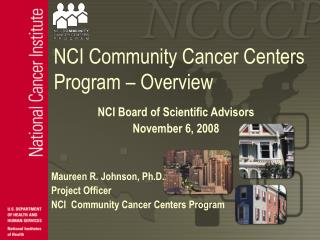 NCI Community Cancer Centers Program   Overview