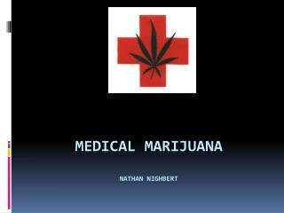 Medical Marijuana nathan Nighbert