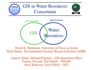 GIS in Water Resources  Consortium