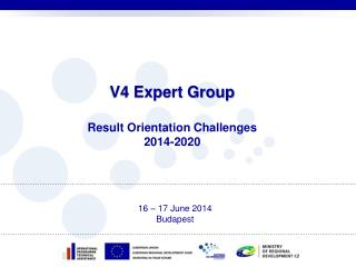 V4 Expert Group Result Orientation Challenges 2014-2020