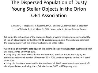 The Dispersed Population of Dusty Young Stellar Objects in the Orion OB1 Association