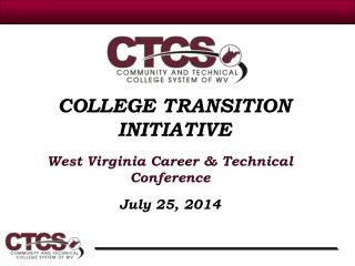 COLLEGE TRANSITION INITIATIVE