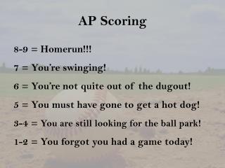 AP Scoring