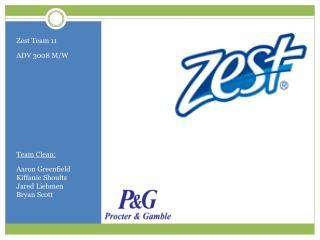 Zest Team 11 ADV 3008 M/W  Team Clean: