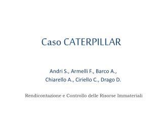 Caso CATERPILLAR