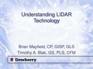 Understanding LIDAR Technology