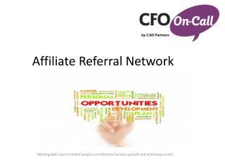Affiliate Referral Network