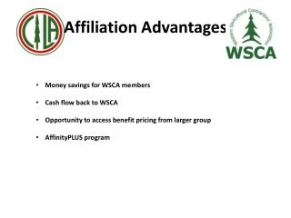 Affiliation Advantages