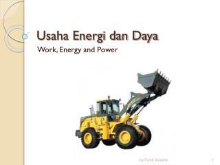 Usaha Energi dan Daya