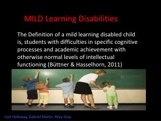 MILD Learning Disabilities